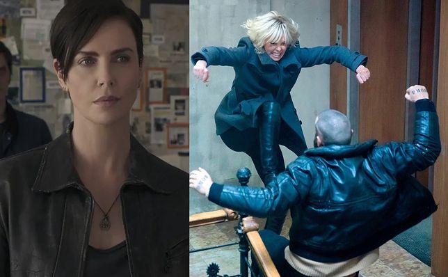 "Charlize Theron w ""The Old Guard"" i ""Atomic Blonde"" (po prawej)"