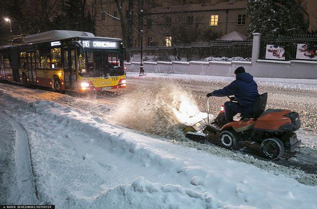 Pogoda. Atak zimy w Warszawie. Według prognoz długoterminowych szanse na ocieplenie są nikłe nawet do połowy marca