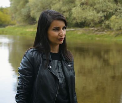 "Magda Stachula, autorka ""Oszukanej""."