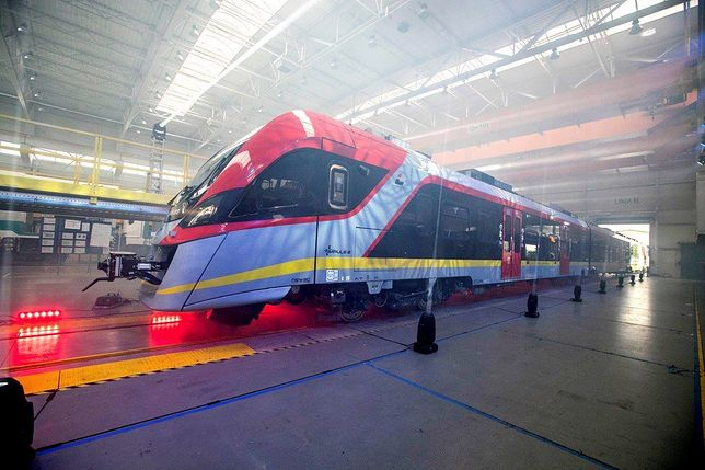 Nowy pociąg polskiej generacji