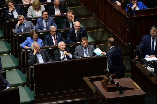 Co Szczerba usłyszał od Kaczyńskiego? Spekulacje na temat wymiany zdań