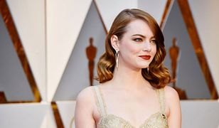 LOOK OF THE DAY: Emma Stone w złocie Givenchy