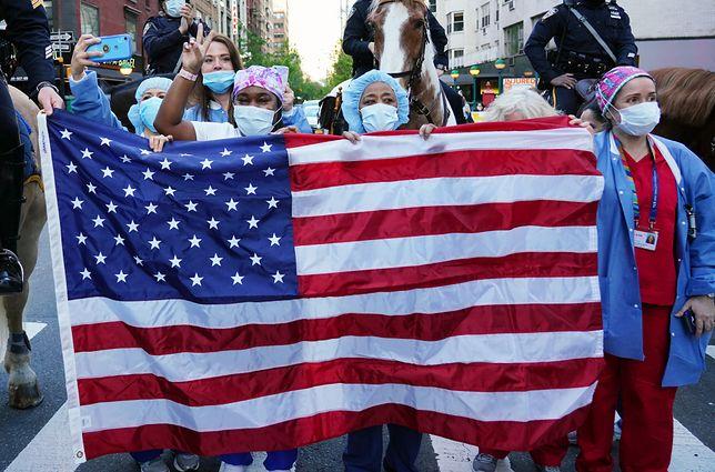 Koronawirus USA. Rośnie liczba zakażonych