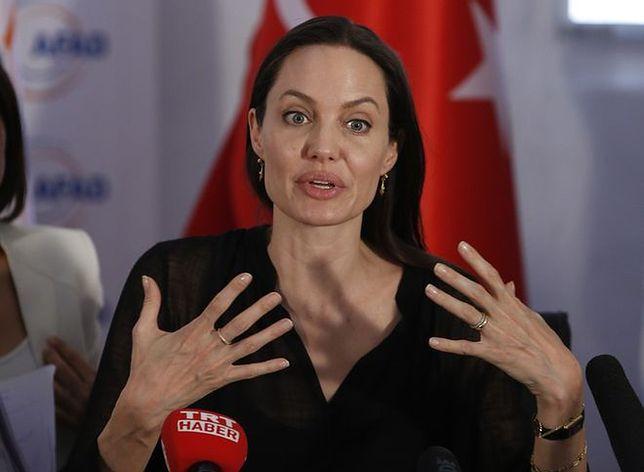 Angelina Jolie: jest różnica między uchodźcą i migrantem zarobkowym