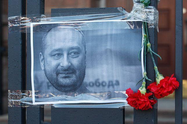Ukraina obarcza Rosję winą za śmierć Arkadija Babczenki