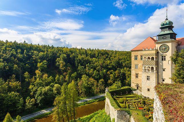 Miejsce 7. Zamek w Pieskowej Skale (Małopolska)