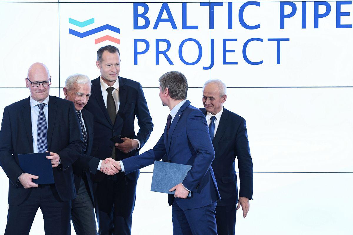 Bruksela dorzuci się do Baltic Pipe. 215 mln euro na połączenie gazowe między Polską a Danią
