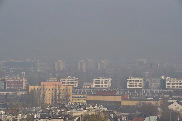 Kraków dusi się w smogu