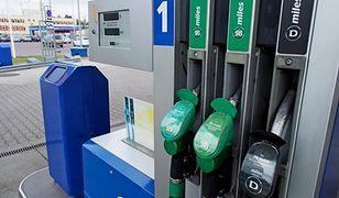 Ceny paliw nieco w dół, ale wyjazdy na ferie uderzą po kieszeni