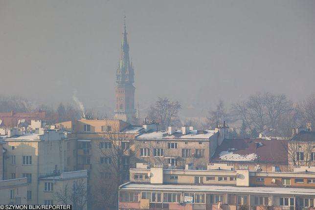 Smog Kraków, Podgórze