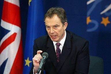 Tony Blair (fot. AFP)
