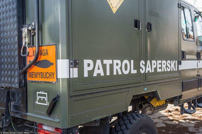 Szczecin. Niewybuch znaleziony w liceum. Saperzy w akcji (zdjęcie ilustracyjne)