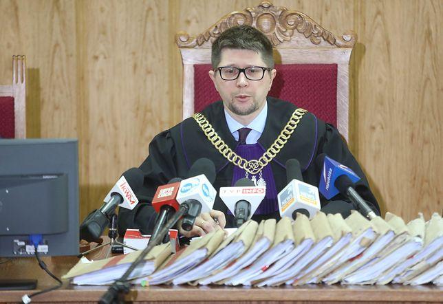 Sędzia Wojciech Łączewski, który skazał m.in. szefa CBA