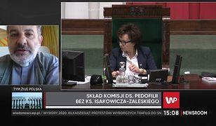 """Ks. Tadeusz Isakowicz-Zaleski oburzony zachowaniem Elżbiety Witek. """"Niegodne"""""""