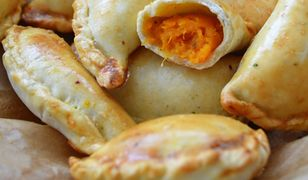 Empanadas z pieczonymi batatami