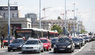 Warszawa: duże utrudnienia w ruchu związane ze szczytem bliskowschodnim