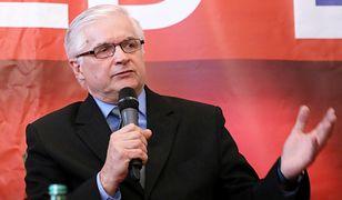 Włodzimierz Cimoszewicz skomentował amerykańską ustawę 447