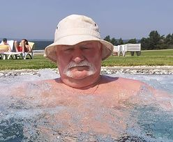 Kobiety, basen i jacuzzi. Lech Wałęsa jak król życia
