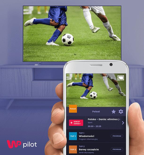 Już jest nowa funkcja aplikacji mobilnej Telewizji WP. Prześlij obraz bezpośrednio do telewizora