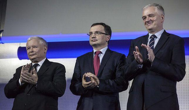 Jarosław Kaczyński, Zbigniew Ziobro, Jarosław Gowin