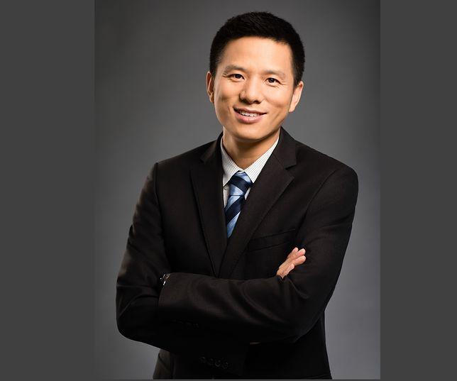 Jefferson Zhang, szef działu urządzeń konsumenckich marki Huawei w Polsce