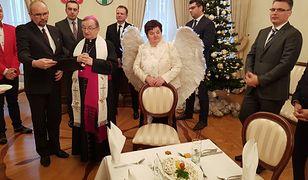Spotkanie wigilijne radnych w Zielonej Górze.