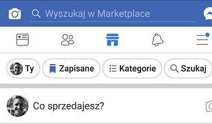 Kupuj i sprzedawaj lokalnie przez Facebooka