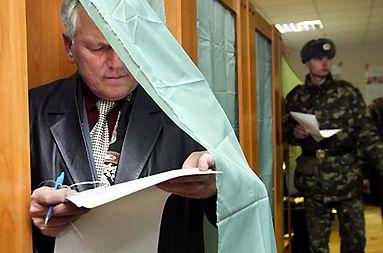 Wybory na Ukrainie wygrała partia Janukowycza - nieoficjalne wyniki