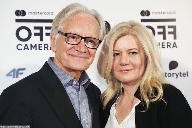 Katarzyna Kubacka-Seweryn z mężem Andrzejem Sewerynem