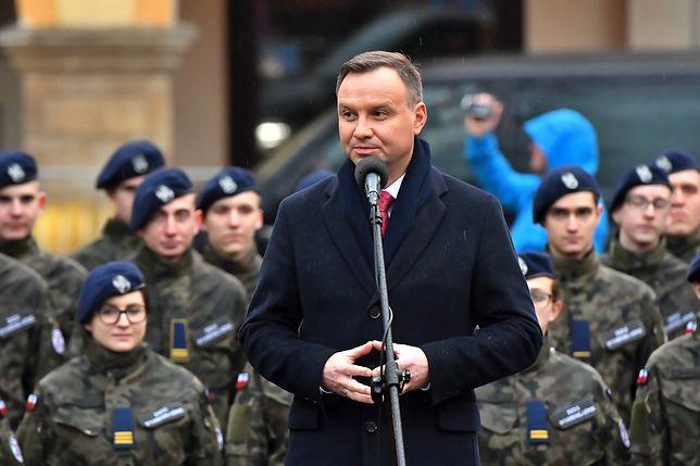 """""""Skandaliczna"""" wypowiedź Andrzeja Dudy. Porównał UE do zaborców"""