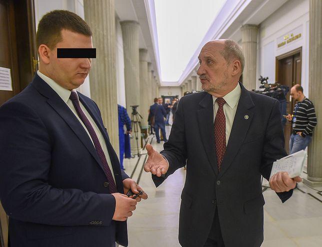 Tomasz Piątek o zatrzymaniu Bartłomieja M.: Kaczyński chce poskromić Antoniego Macierewicza