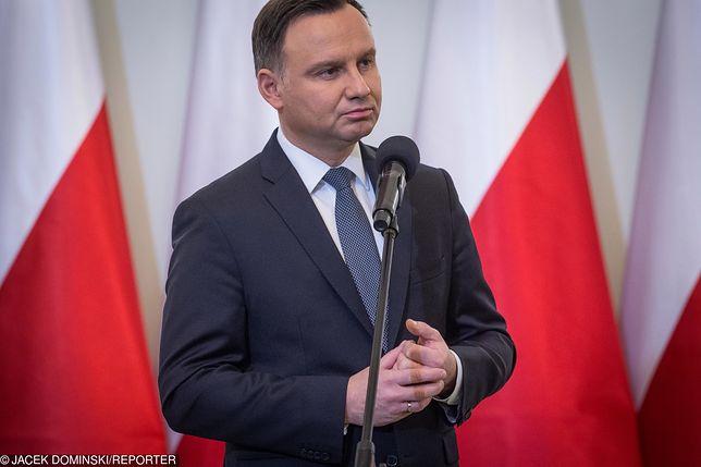 Andrzej Duda chce postawić pomnik Tadeusza Mazowieckiego w Warszawie