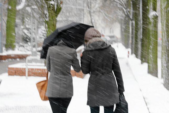 W niektórych rejonach Polski spadnie śnieg