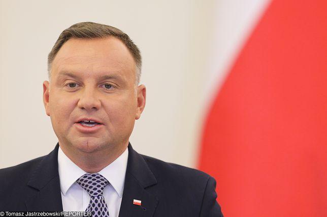 """1 września. Andrzej Duda na Zamku Królewskim. """"Nie stajemy w poczuciu żałoby, tylko zwycięstwa"""""""