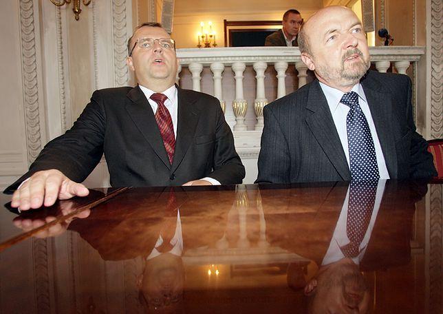 Kazimierz Ujazdowski i Ryszard Legutko.