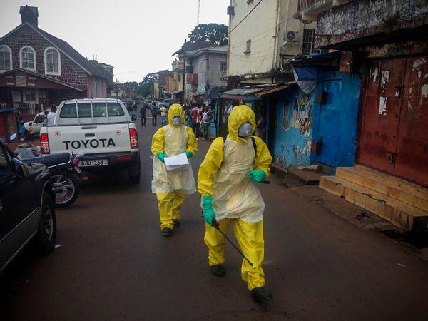 Pracownicy służby zdrowia w Sierra Leone