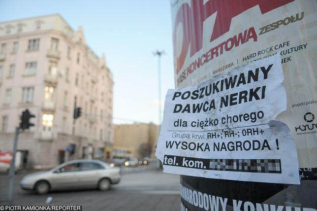 Handel organami jest w Polsce zabroniony