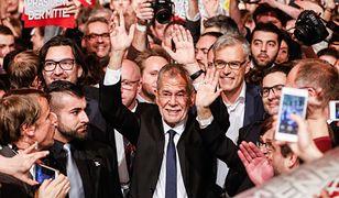 Nowy prezydent Austrii Alexander Van der Bellen
