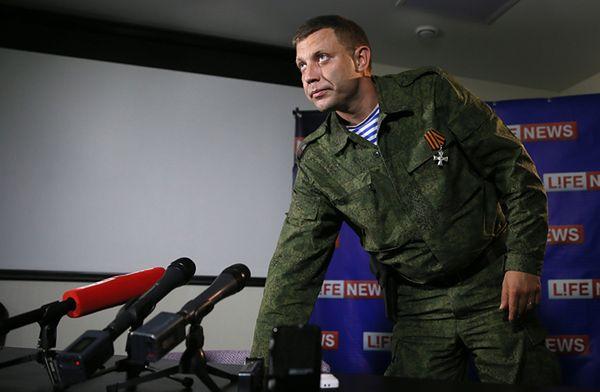 """""""W weekend nastąpi atak"""". Premier DRL Aleksandr Zacharczenko zapowiada """"reakcję"""""""