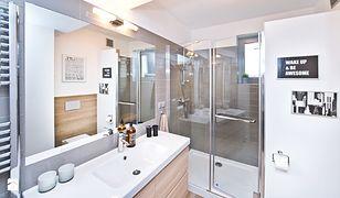 Aranżacja małej łazienki: strefa natryskowa