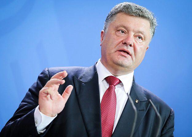 Petro Poroszenko apeluje o natychmiastowe zawieszenie broni i rozejm w Donbasie