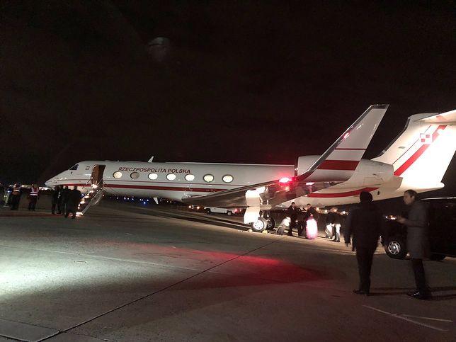 Polski Air Force One wylądował w USA