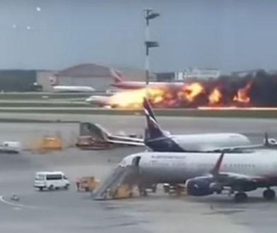 W Moskwie doszło do katastrofy samolotu pasażerskiego