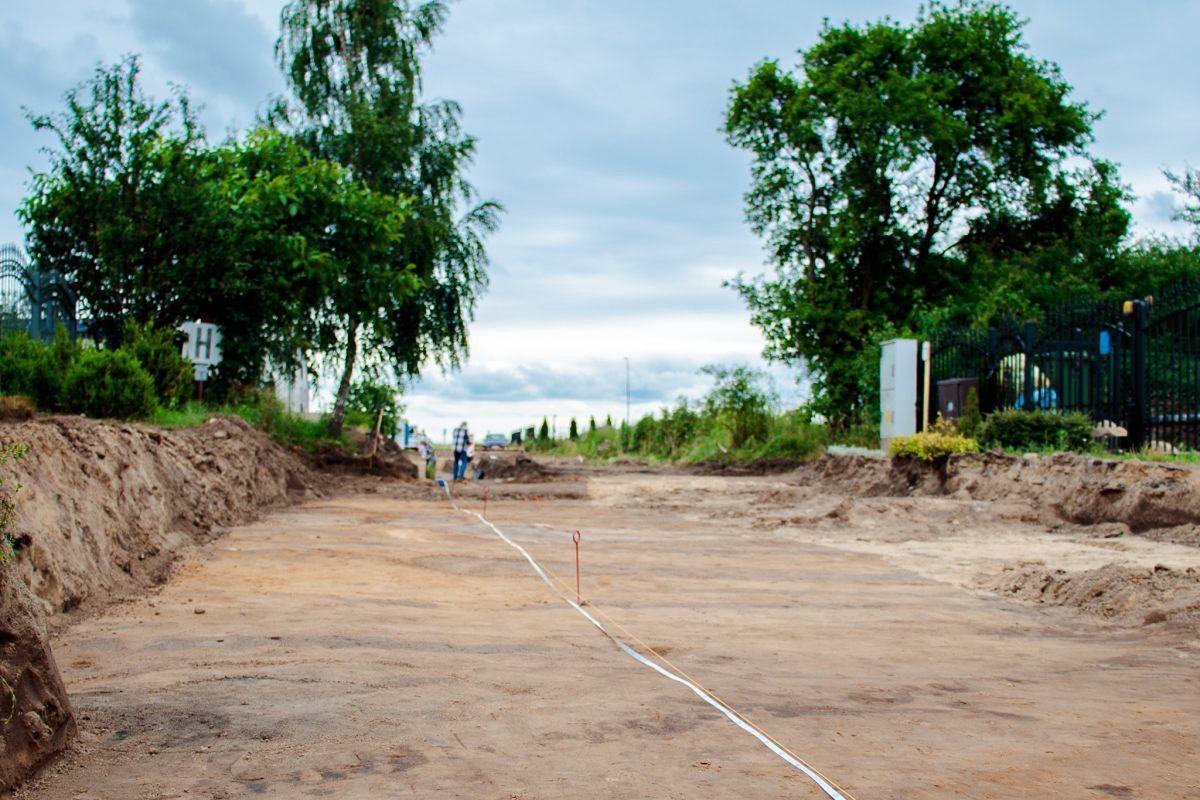 Przy ul. Jachtowej w Rewie odkryto znaleziska sprzed tysięcy lat