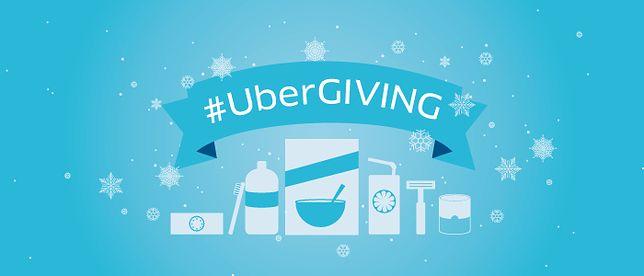 UberGiving czyli prospołeczna inicjatywa od Ubera