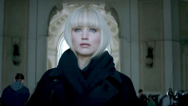 """Jennifer Lawrence w filmie """"Czerwona jaskółka"""""""