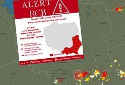 Czerwone alerty IMGW. Ostrzeżenie RCB dla południowo-wschodnich województw