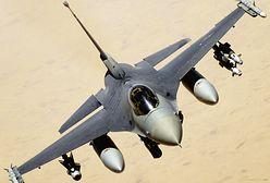 Pilot F-16 oślepiony podczas lądowania w Łasku. Ktoś użył lasera