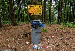"""Zużyte pampersy, podpaski i maseczki na szlakach górskich. """"Nowe kategorie śmieci"""""""