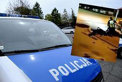 Interwencja policji w Wieruszowie. Policjant porażony paralizatorem? Jest nagranie